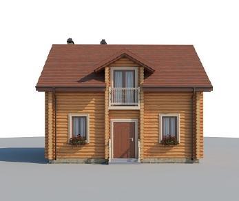 Проект дома AS-2221, 99 м2