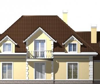 Проект дома Проект Z50, 338.8 м2