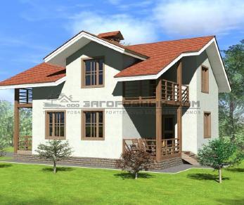 Проект дома Рахманово, 145 м2