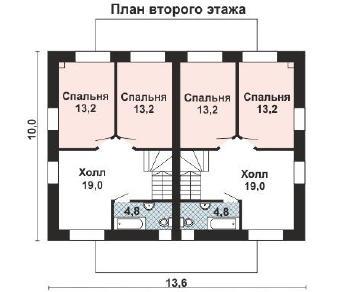 Проект дома AS-2242, 221 м2