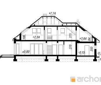 Проект  Дом в индигофери, 175.4 м2