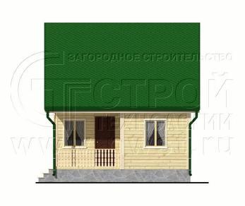 Проект дома Проект дома №90, 42 м2