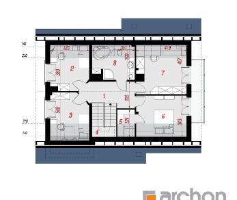 Проект  Дом в айдаредах 3, 148.2 м2
