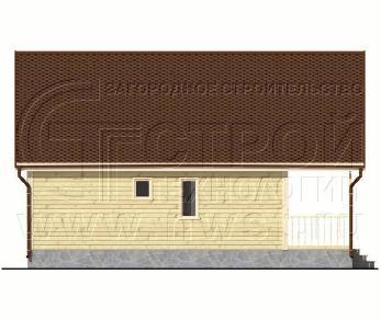 Проект дома Проект дома №94, 60 м2