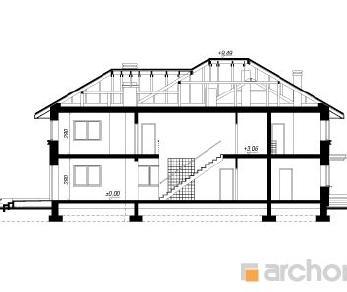 Проект  Вилла Приморская, 350.2 м2