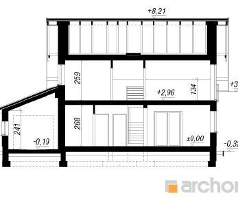 Проект  Дом в хлорофитуме (Г), 136.79 м2