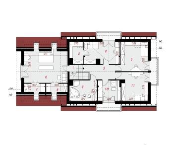 Проект  Дом в каллах 2 (Г2), 252.3 м2