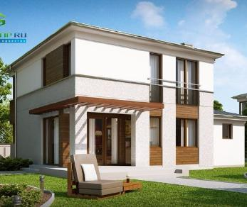 Проект дома Проект zx47, 132.6 м2