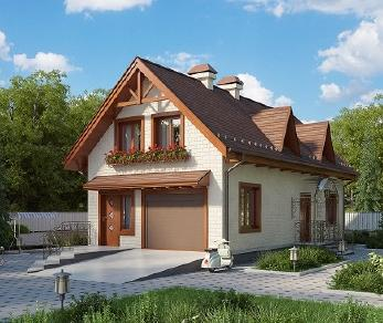 Проект дома AS-2229, 104 м2