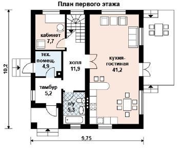 Проект дома AS-2036, 151 м2