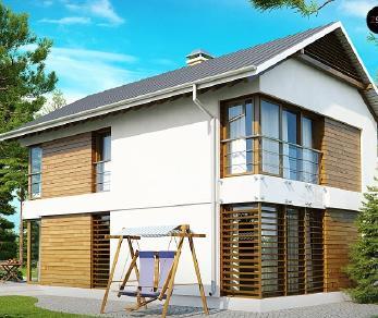 Проект дома Проект Z155, 121.7 м2