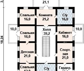 Проект дома AS-2127, 455 м2