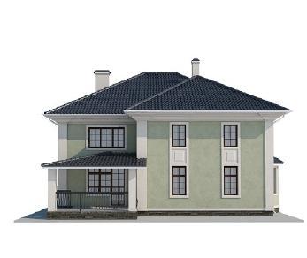 Проект дома AS-2136, 256 м2