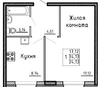 Продажа квартиры Мурино, Менделеева б-р, к. 19