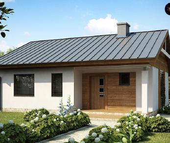 Проект дома Проект Z78, 70.2 м2