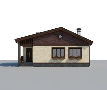 Проект дома AS-2202, 73 м2