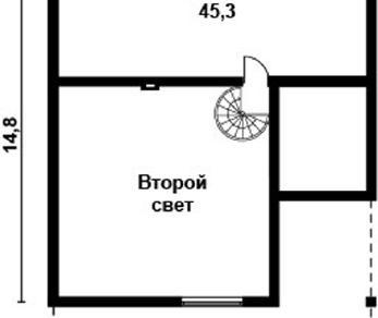 Проект дома AS-2111, 180 м2