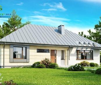 Проект дома Проект z140, 123.2 м2