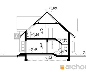 Проект  Дом в мирабелле, 158.5 м2