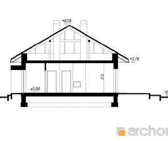 Проект  Дом под красной рябиной 7, 93.4 м2