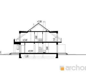 Проект  Дом в клематисах 8 (Б), 122.5 м2