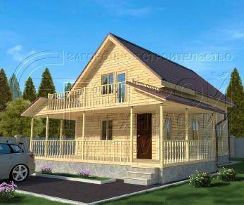 Проект дома Проект дома №111, 54 м2