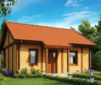 Проект дома Проект z42, 37.6 м2