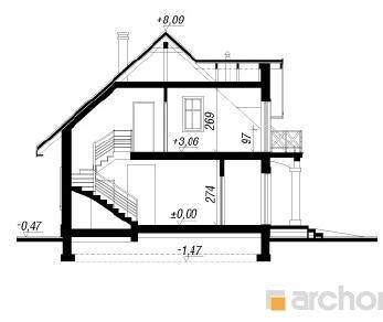 Проект  Дом в бархатцах 4, 152.8 м2