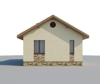 Проект дома AS-2142-2, 34 м2