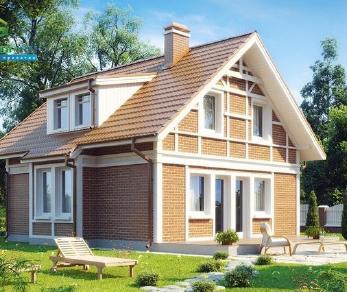 Проект дома Проект z44, 117.6 м2
