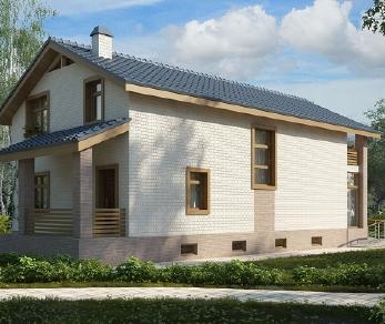 Проект дома AS-2116, 231 м2