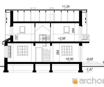 Проект  Дом в кориандре 2, 99.9 м2