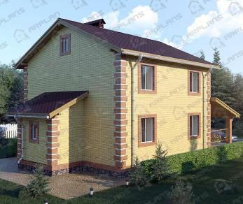 Проект  Любимово, 195 м2