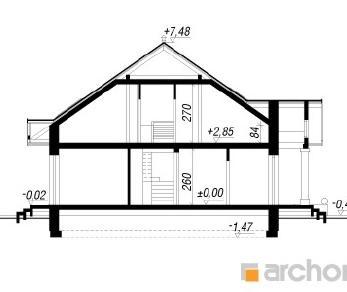 Проект  Дом под красной рябиной 4 (ПД), 187 м2