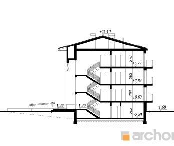 Проект  Дом у бульвара 5, 671.5 м2