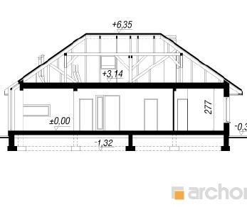 Проект  Дом в хеномелесе 2, 144.2 м2