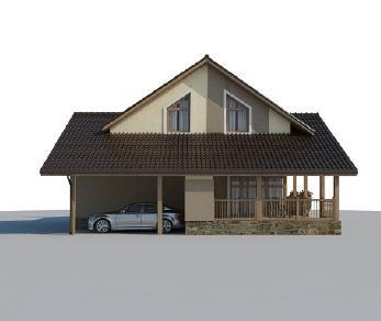 Проект дома AS-2134-2, 166 м2