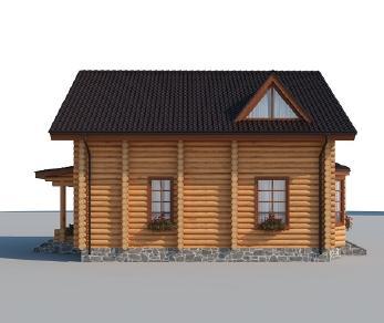 Проект дома AS-2166-2, 156 м2