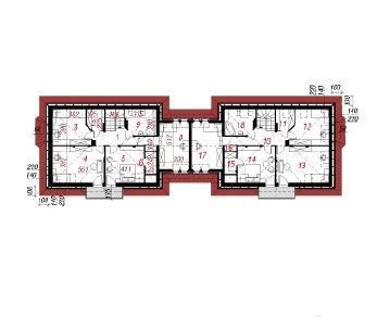 Проект  Дом в бархатцах-5, 346.2 м2