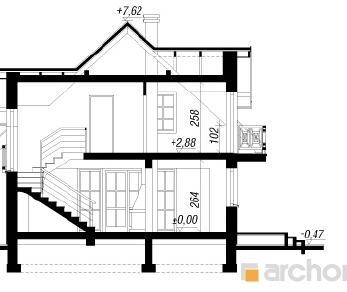 Проект  Дом в солодках 2, 117.4 м2