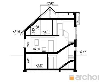 Проект  Дом в винограднике (ПH), 136 м2