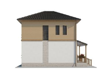 Проект дома AS-2024, 127 м2