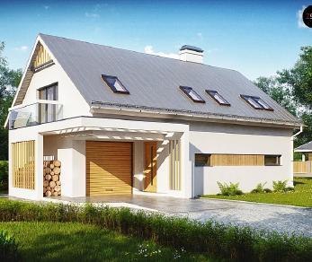 Проект дома Проект Z235, 190.5 м2