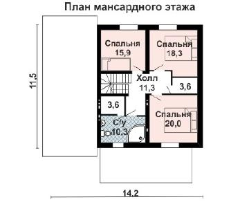 Проект дома AS-2258, 221 м2