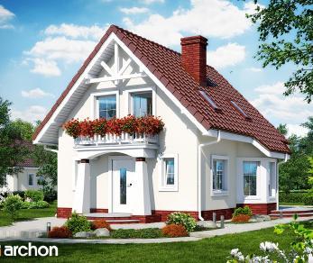 Проект  Дом в винограде, 79.5 м2