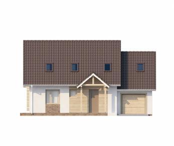 Проект дома Проект Z107, 178.6 м2