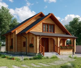 Проект дома AS-2222, 92 м2