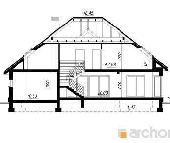 Проект  Дом в каллатеях, 262 м2