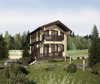 Проект дома КБ-037, 101.14 м2