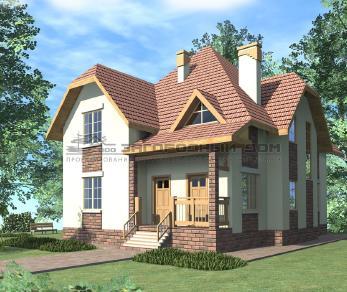 Проект дома Некрасово-3, 163 м2